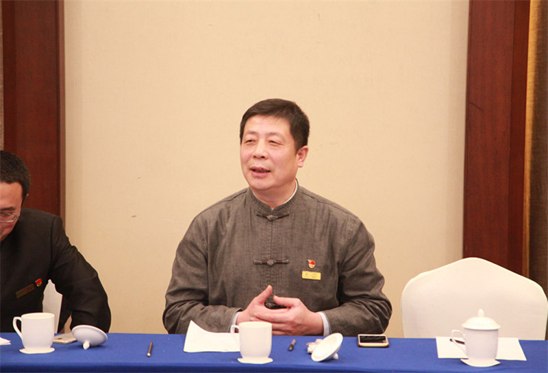 学院党委书记,副院长张怀林发言图片
