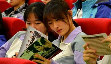 北京理工大学附中分校师生走进中瑞:大学体验助力同学选对专业